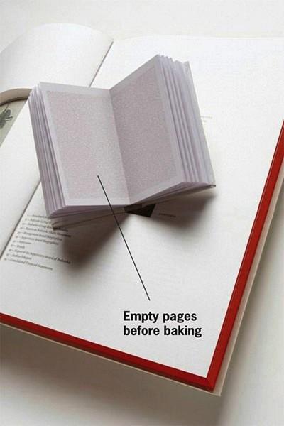 Как сделать книгу кулинарных рецептов необычной и более покупаемой.  Креативное агентство Bruketa предложило...