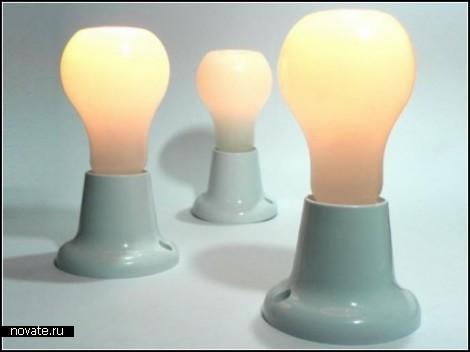 Лампы-свечи Bulb candles