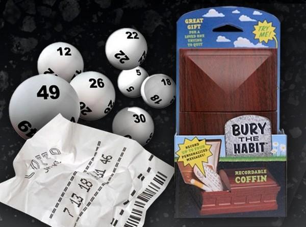 Bury the Habit Recordable Coffin против пристрастия к азартным играм