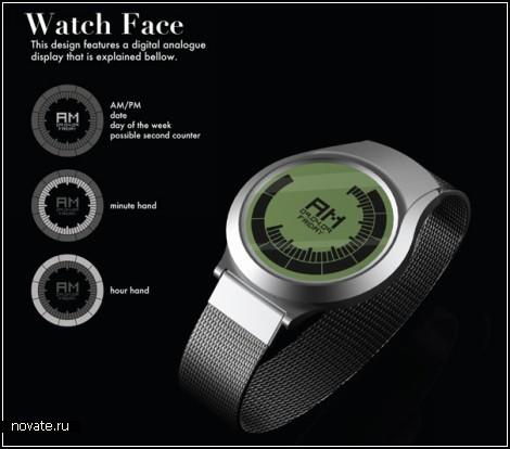 Cadence Watches. Часы и аналоговые, и цифровые