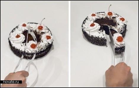 Нож Magisso Cake Server для ровных и красивых кусочков десерта