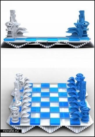 Архитектурные шахматы Calatrava Chess Set