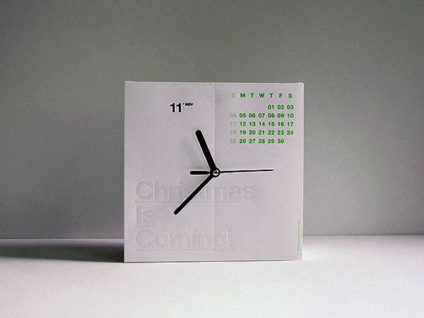 Два в одном. Концептуальные часы-календарь CalenClock
