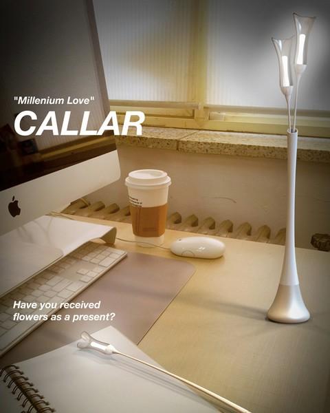 Callar light: букет цветов вместо настольной лампы