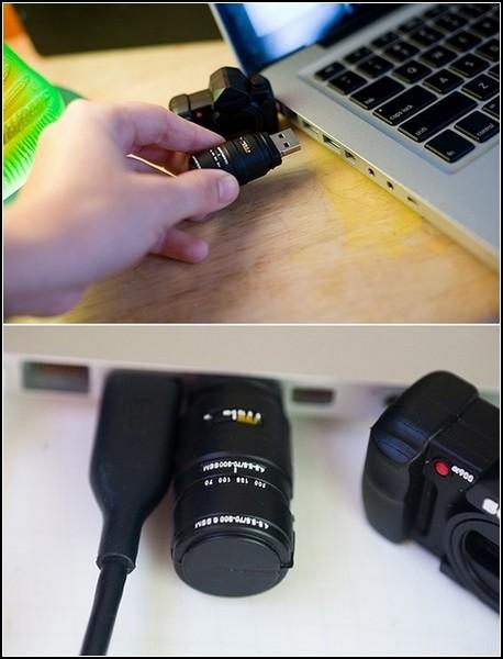 Camera USB Drive: фото-флешки для фотолюбителей