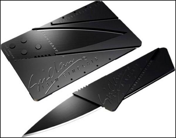 Нож CardSharp размером с кредитку
