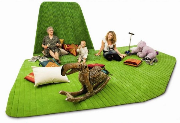 Sail Carpet, ковер-островок для семейного досуга