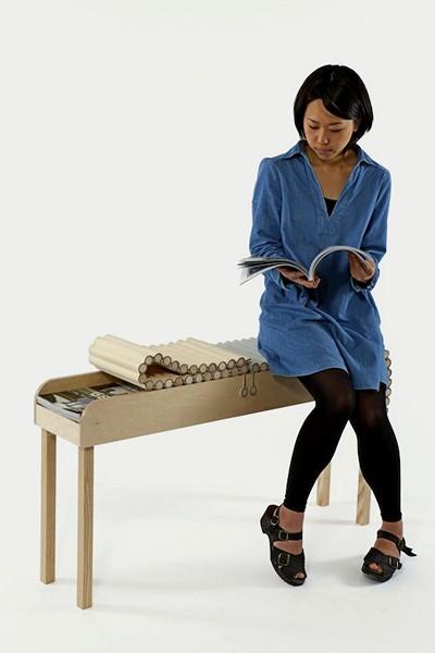 Bundle: скручивающаяся в пучок мебель от Catherine Louise Aitkin