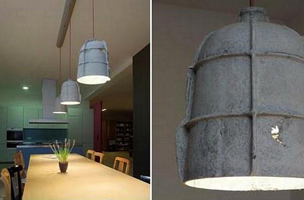 Cement Pendants, гламурные цементные абажуры от Райнера Мутча (Rainer Mutsch)