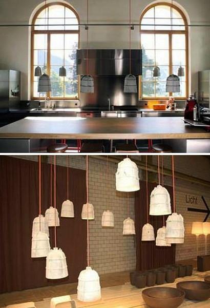 Cement Pendants, ограниченная серия цементных светильников для компании Eternit