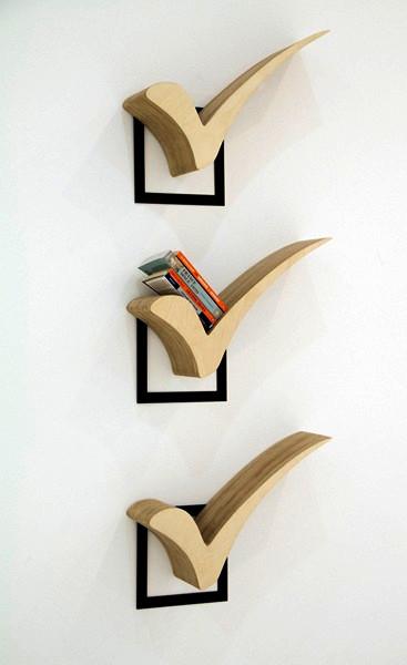 Полочка-отметка. Дизайн-проект Check от Jongho Park
