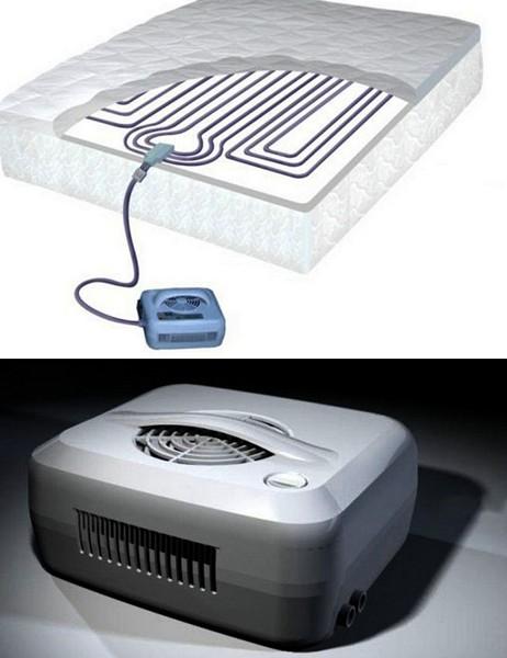 Универсальный матрас ChiliPad. И кондиционер, и обогреватель, и кровать