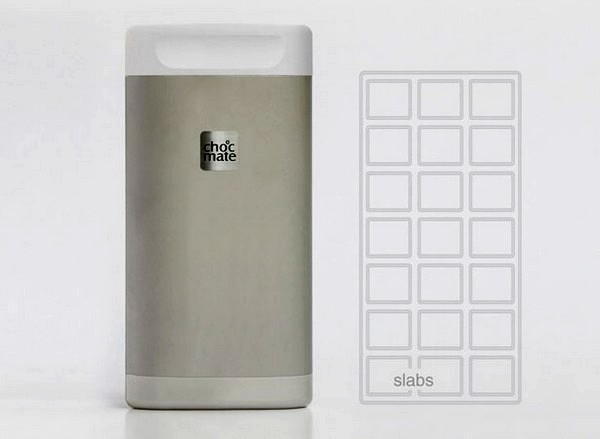 Choc Mate, концептуальный термос для шоколадной плитки или батончика