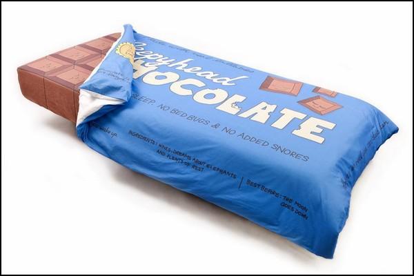 Chocolate Bar Bed. Шоколадная кровать для сладких снов
