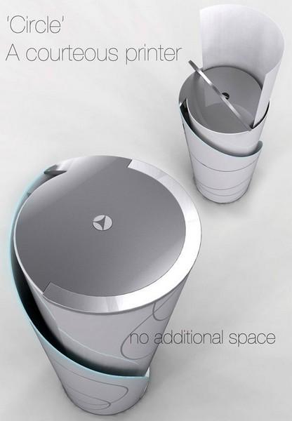 Вертикальный принтер Circle Printer от Yang Jae Wook