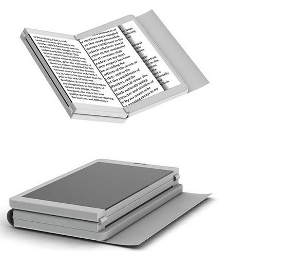 Трехпанельный концепт The Wallet: телефон, фотоаппарат, планшет