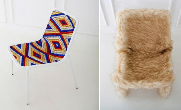 Коллекция одежды для стульев Clothed chairs, дизайн Ын Ён Юнг (Eun Young Jung)