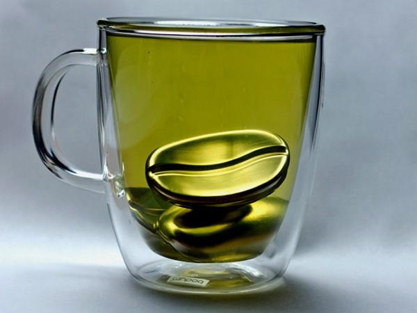 Кофейное зернышко Coffee Joulies, терморегулятор для горячего чая, кофе или какао