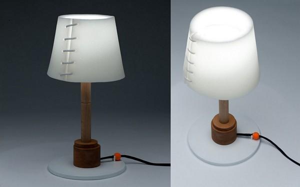 Collapse Lamp: светильник, который разваливается на глазах