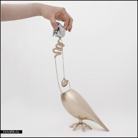 Ожерелье Companion Parrot из внутренностей попугайчика