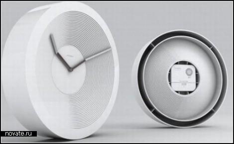 Необычные часы Contour Clock от компании MintPass