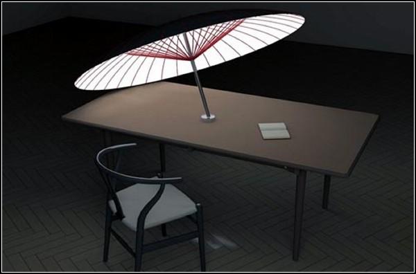Зонтик-абажур Umbrella Lampshade