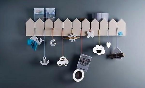 Креативные детские вешалки для одежды