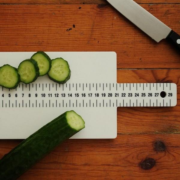 Досточка-линейка Ruler Cutting Board