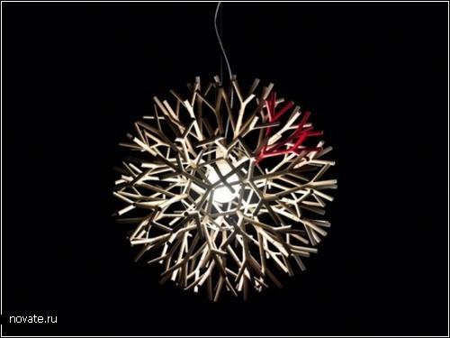 Coral lamps  от Pallucco