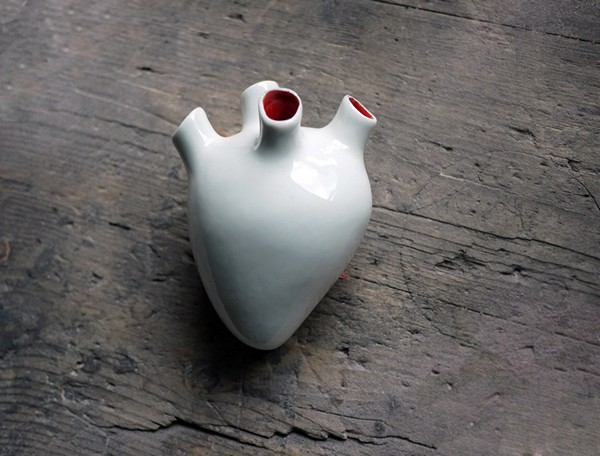 Corezone: керамическое сердце для записок-эмоций