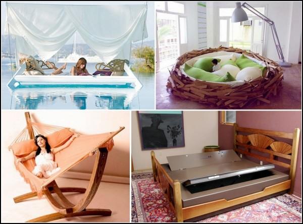 Обзор креативных кроватей, часть 2