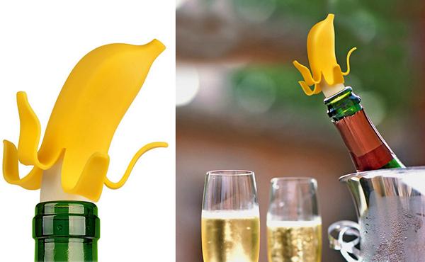 Аппетитная Banana Bottle Stopper