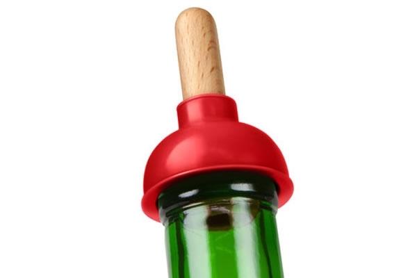 Прикольная пробка Plunge Bottle Stopper