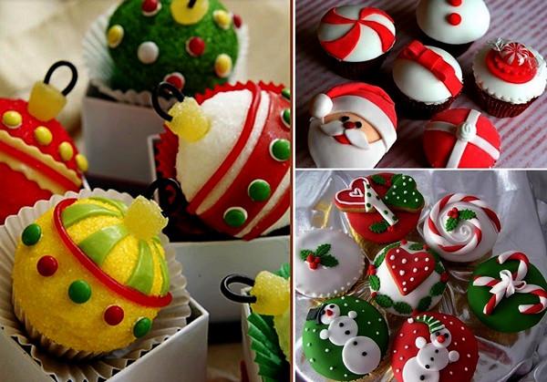 Новогодние и рождественские кексы