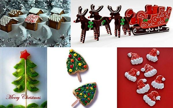 Праздничный обзор креативно украшенных новогодних блюд