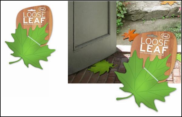 Кленовый лист как *стоппер* для двери