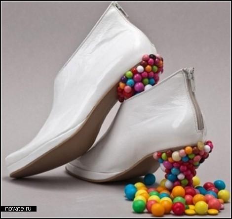 Обзор эпатажных и оригинальных дизайнерских туфелек