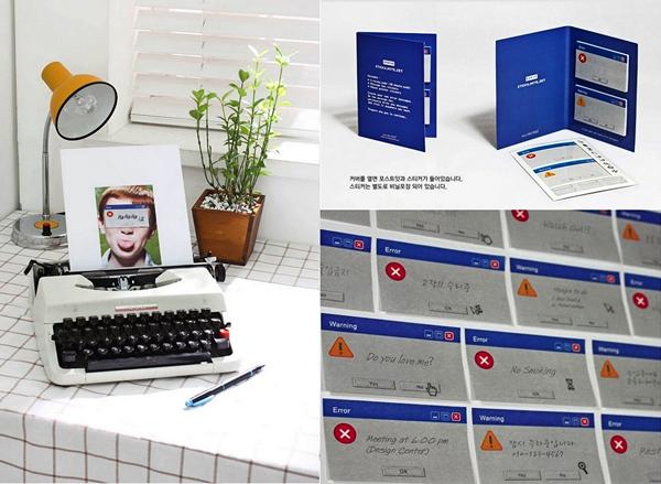 Компьютерные стикеры с чувством юмора