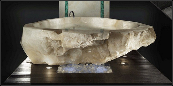 Crystal Bathtub, хрустальная ванна ценой в $ 790000