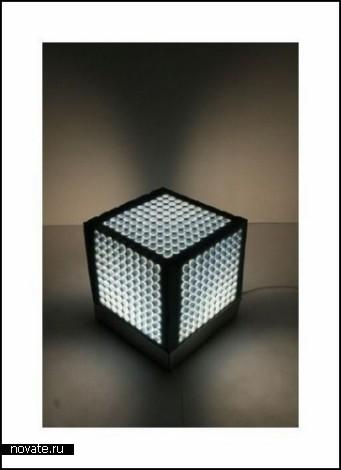 Концептуальный пуфик-ночник Cubeme от Евы Гарнец (Ewa Garniec)