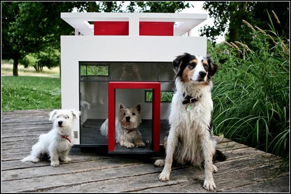 *Дворец* Cubix. Стальная будка для собаки