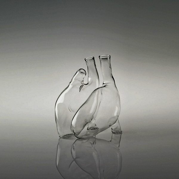 Cuore carafe, графины для воды и вина от Ливианы Ости (Liviana Osti)