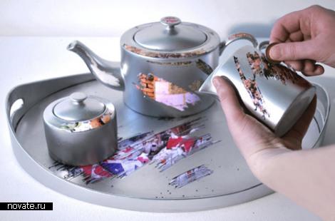 Скретч-сервиз Cuppa Luck tea set