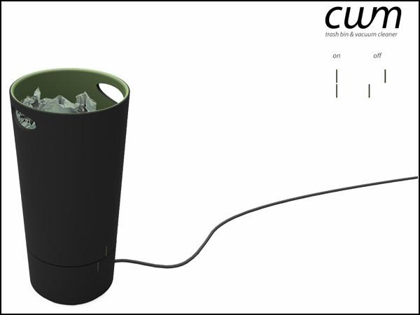The Cuum, пылесос, который добавит работы