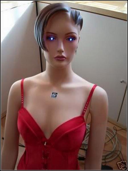 Sexy Girl Cyber. Манекен вместо системного блока