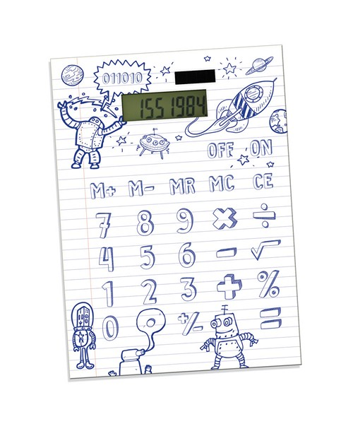DIY Calculator, калькулятор, который нужно нарисовать самому