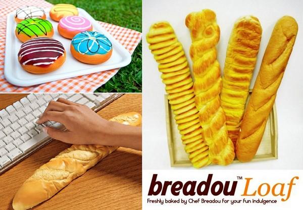 Ароматные подушечки для запястья Breadou Donut  и Breadou Loaf