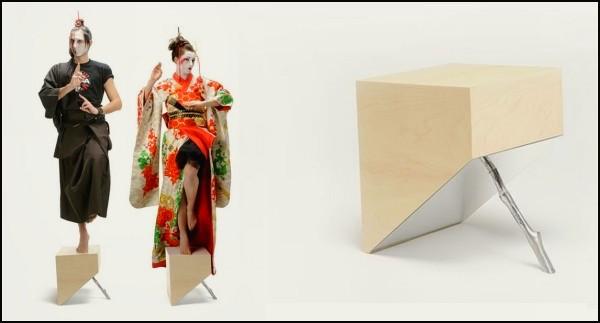 Философская мебель D\ZEN от арт-студии CTRLZAK