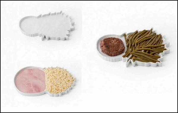 Daily Menu, тарелки для завтрака человека-привычки