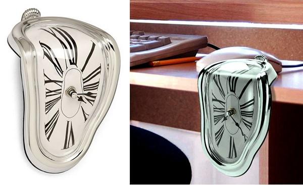 Melting Clocks в качестве настенных и настольных часов